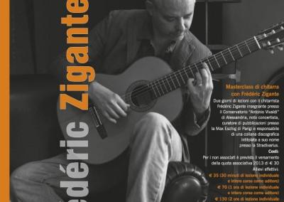 LocandinaSeminario Frédéric ZiganteScuola di Musica Città di Codroipo