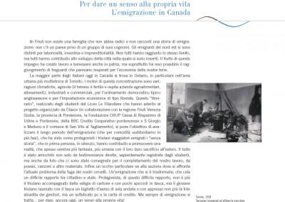 Pagina interna libro: il sogno di un futuro migliore EFASCE - Liceo Scientifico Le Filandiere