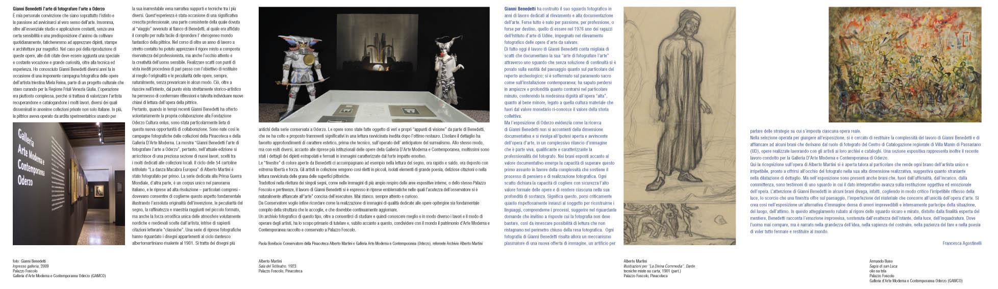 Gianni Benedetti: L'Arte di fotografare l'Arte, Oderzo