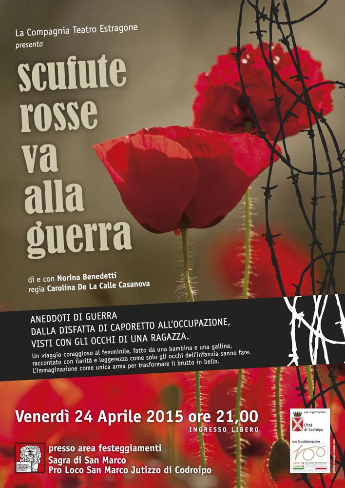 Locandina TeatroPro Loco San Marco Jutizzo | gio*lunazzi studio