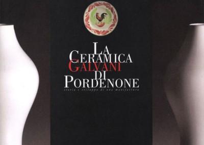 """Catalogo """"La ceramica Galvani di Pordenone""""graphistudio"""