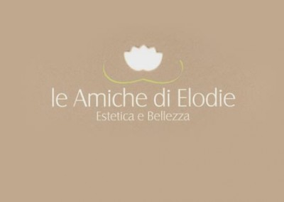 Le amiche di Elodieestetica & bellezzalogo e immagine coordinata