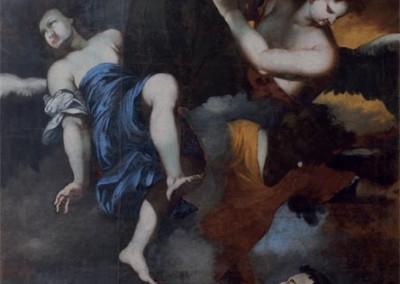 Pannello restauro Pala di Sant'Antonio di Padova  del Duomo di Codroipo