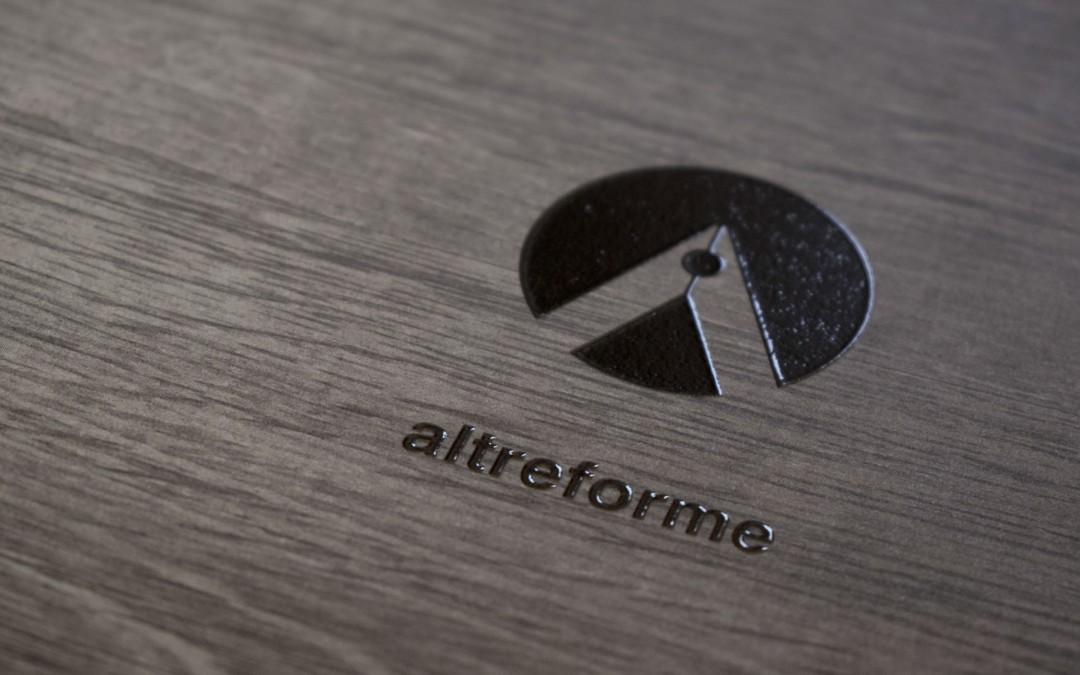 altreforme: logo, immagine coordinata, sito internet