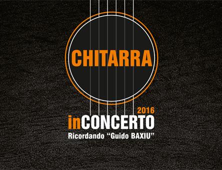 Locandina e manifesto: Chitarra in Concerto