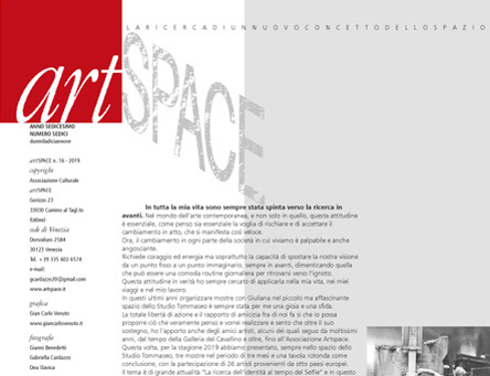 gian carlo VENUTO: ArtSpace