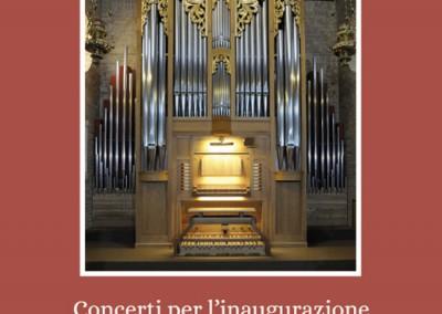 Libretto da sala concerti organo