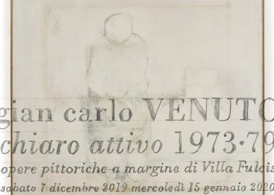 Catalogo: gian carlo VENUTO chiaro attivo 1973-79