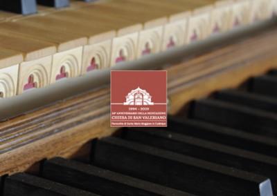 Materiale coordinato inaugurazione Organo Zanin
